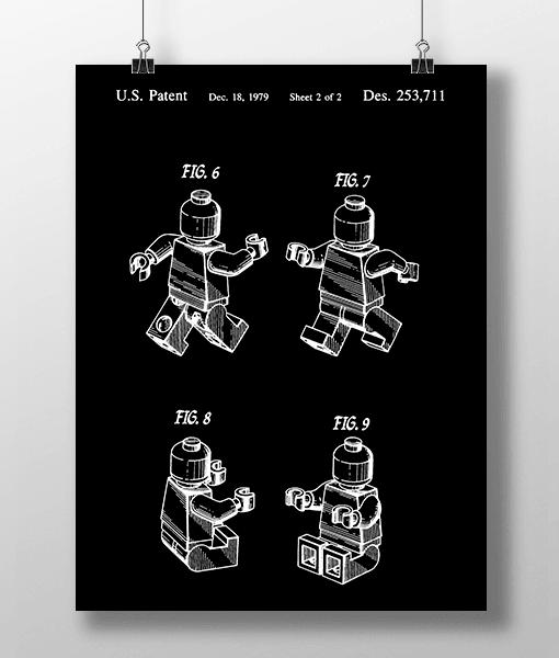 Lego Figur 2 Patent | Plakat 2