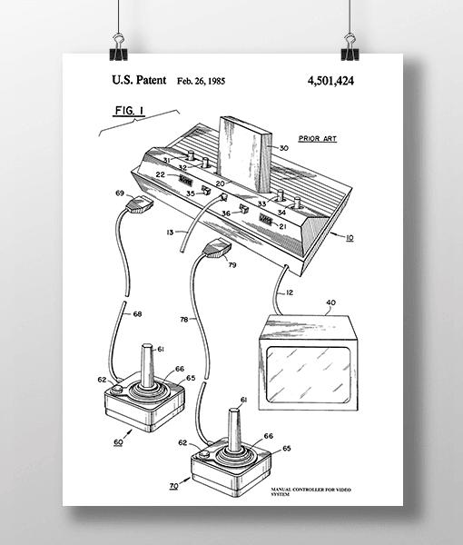 Manual Controller 1 Patent | Plakat 1
