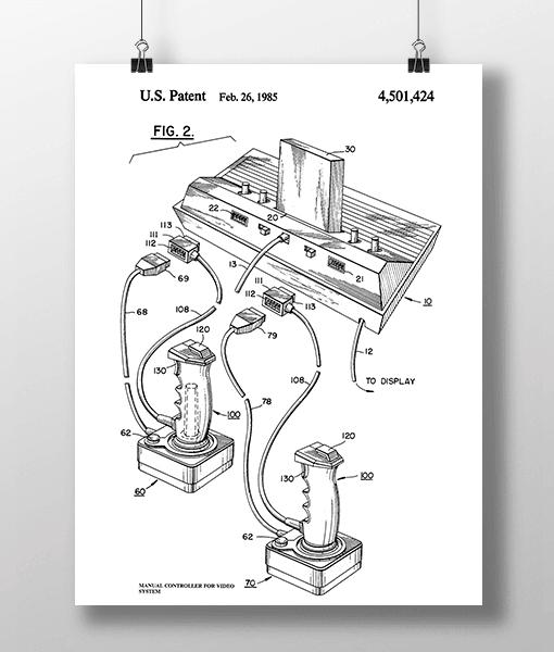 Manual Controller 2 Patent | Plakat 1