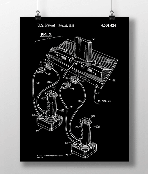 Manual Controller 2 Patent | Plakat 2