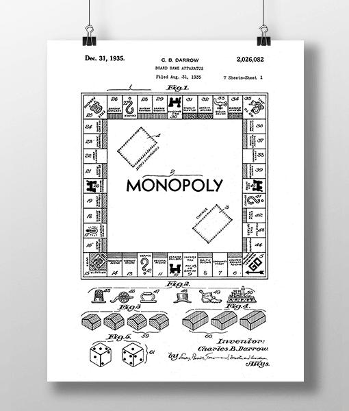 Monopoly Patent | Plakat 1