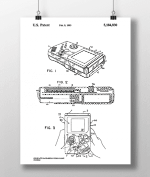 Nintendo 1 Patent | Plakat 3