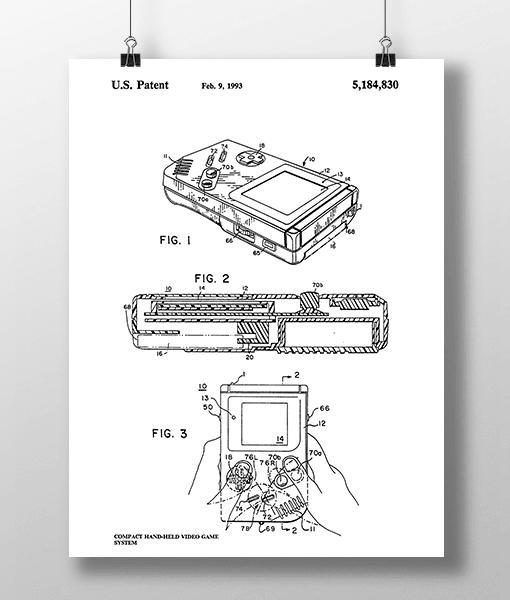 Nintendo 1 Patent | Plakat 2
