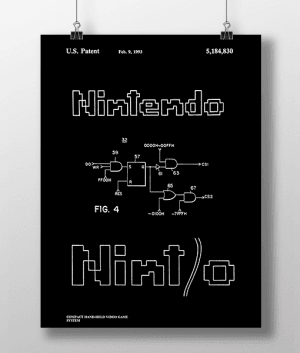 Nintendo 2 Patent | Plakat 3