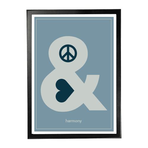 Peace love harmony 1