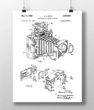Photo Camera 1 Patent | Plakat 4