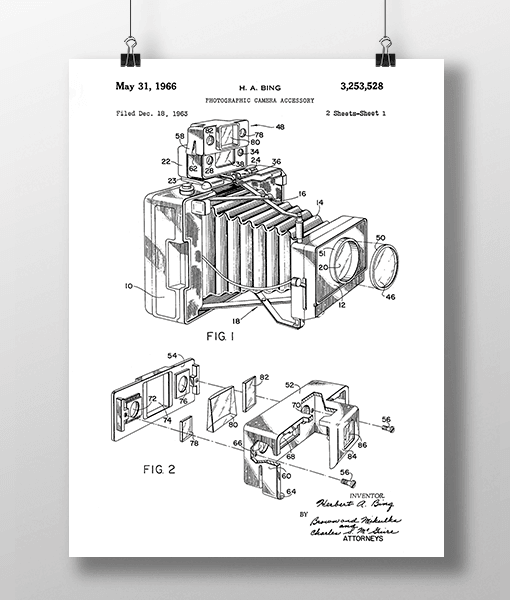 Photo Camera 1 Patent | Plakat 1