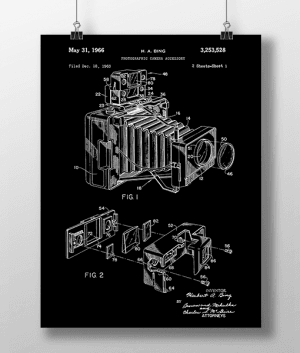 Photo Camera 1 Patent | Plakat 5