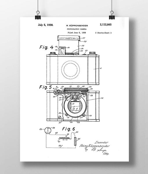 Photographic Camera 2 Patent | Plakat 2