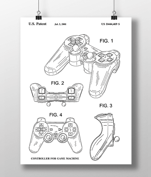 Play Controller Patent | Plakat 2