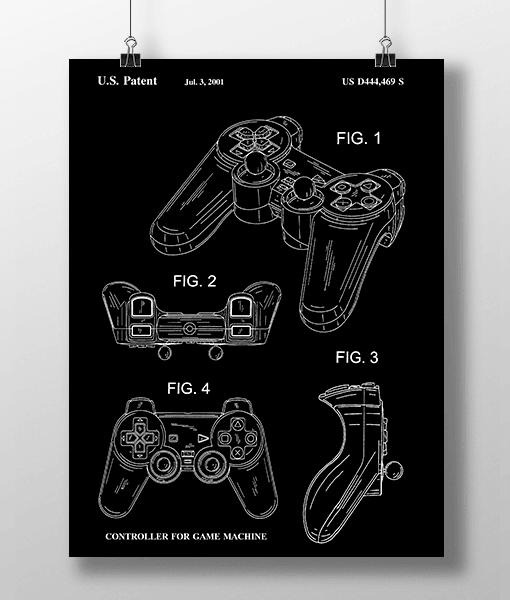 Play Controller Patent | Plakat 1