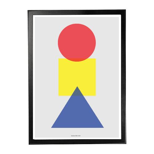 Plakat Primære former 1