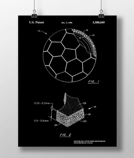 Soccer Ball Patent | Plakat 2