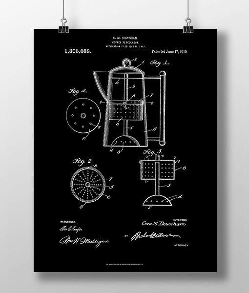 Stempelkande Patent | Plakat 1