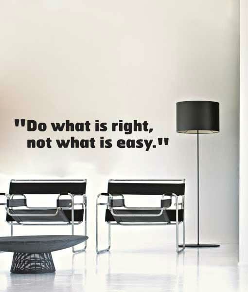 wallsticker do what is right 1