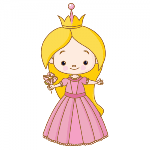Wallstickers Prinsesse 3